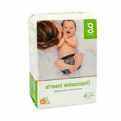 gDiapers Inserts Medium/Large/X-Large