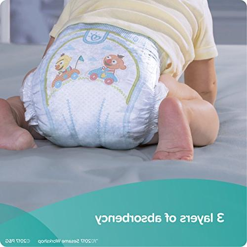 Pampers Baby Disposable Baby Size 6,144 Count, ONE
