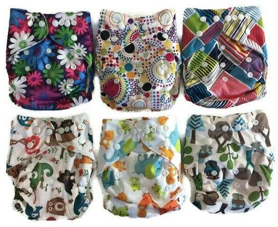 echo friendly diapers bamboo terry absorbent reusable