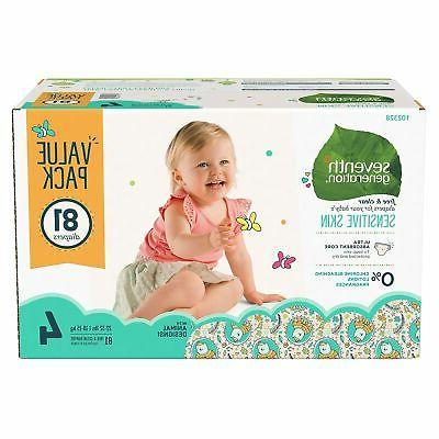 free and clear diapers size 4 44123