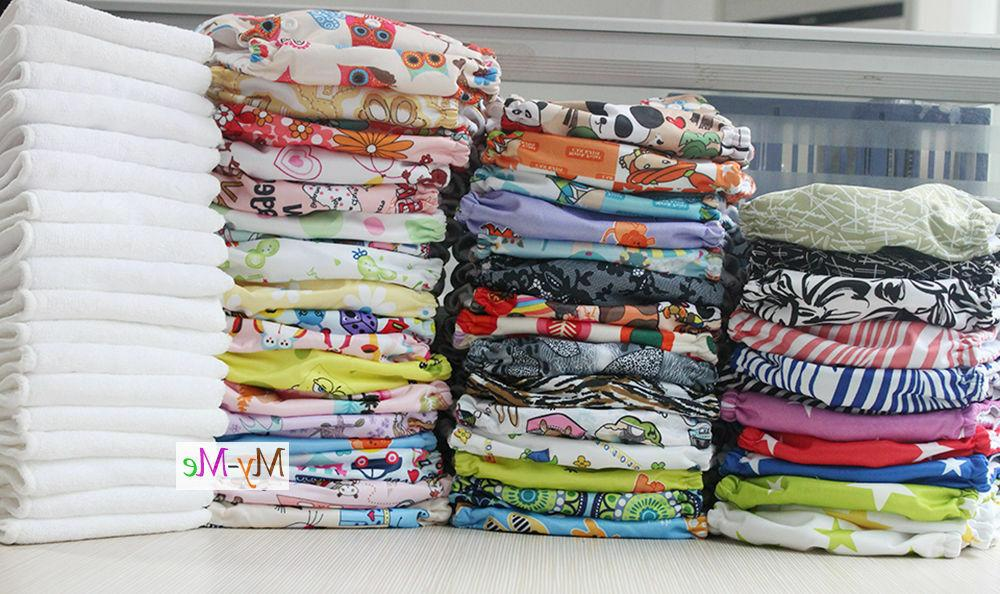 baby one size cloth diaper lot reusable