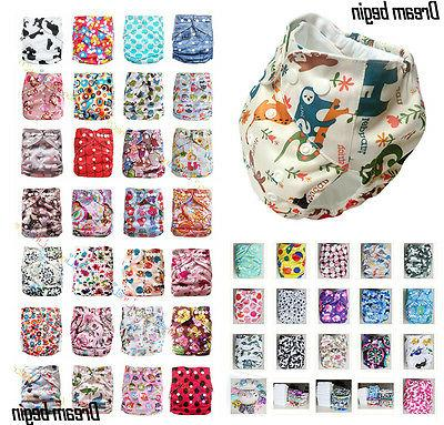 lot baby infant one size reusable cloth