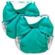 Kanga Care Lil' Joey All-In-One Cloth Diaper 2-Pack - Peacoc