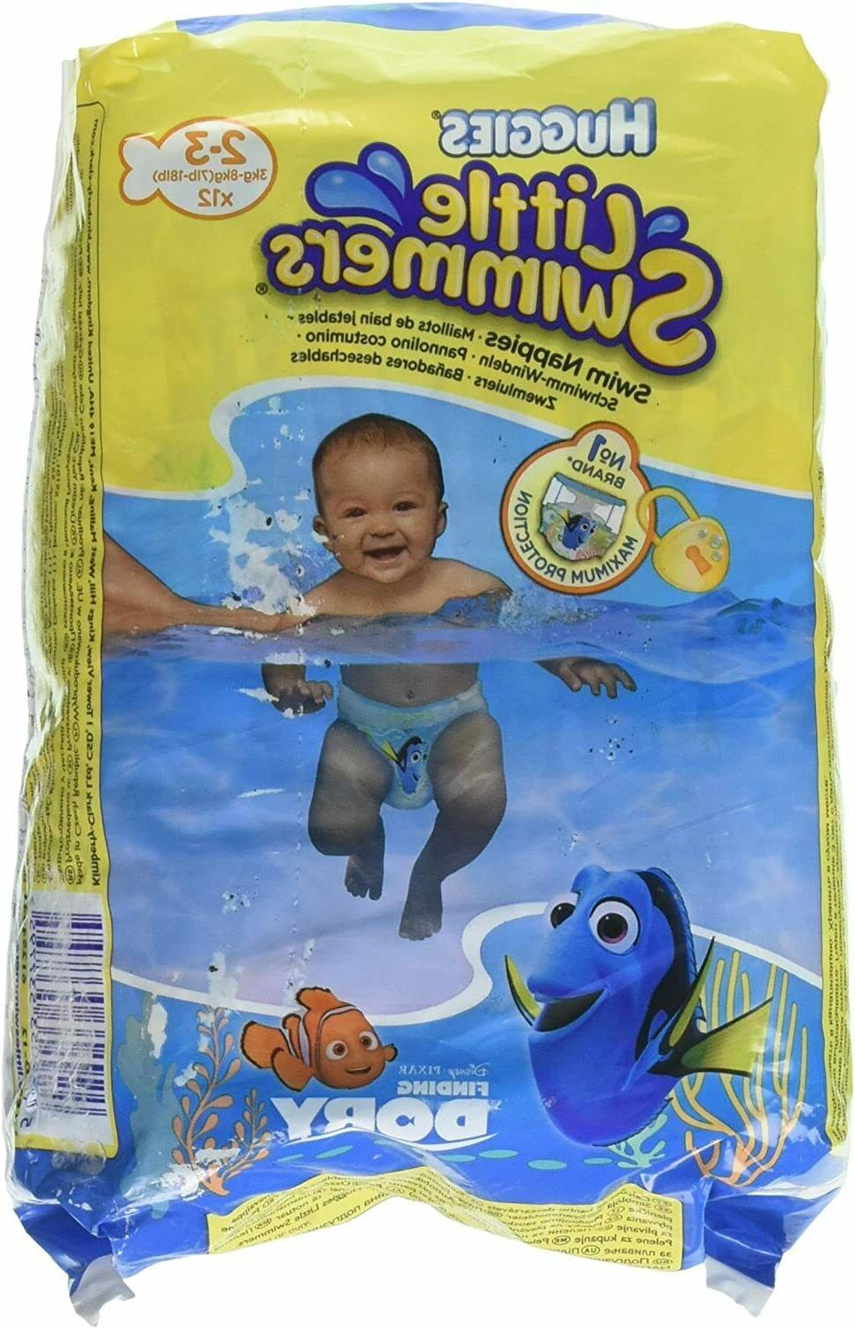 little swimmers disposable diapers x small 7lb