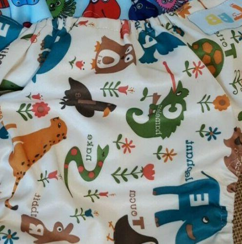 Lot Reusable Diapers Dino, Colors