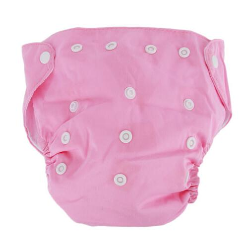 Washable Cloth Adjustable Reusable Nappies Diapers Inserts