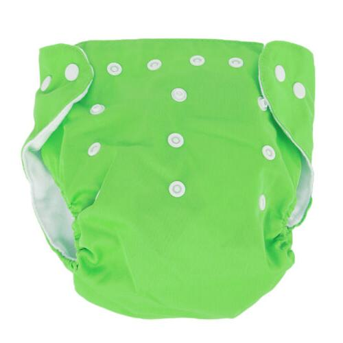 Washable Diapers Reusable Nappies Diapers 5 Inserts