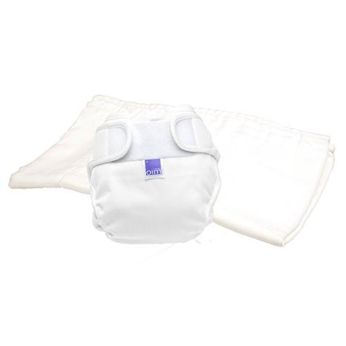 miosoft cloth diaper trial pack white size