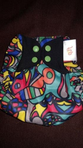 new flip cloth diaper cover htf top