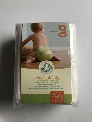 NEW! gDiapers m/l/xl cloth