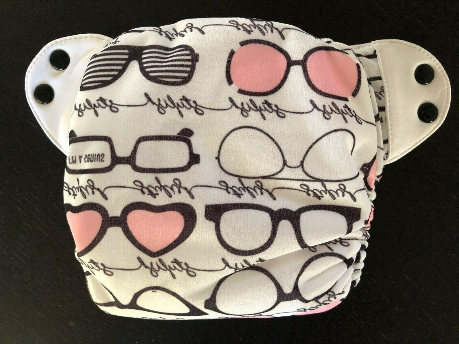 New Original Cloth Diaper With Inserts Audrey
