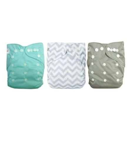 Pocket Diapers with Bamboo and