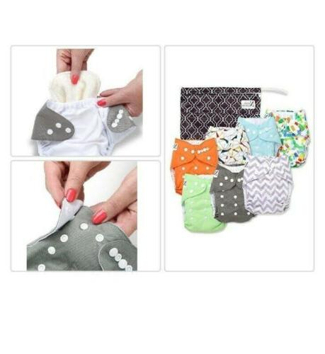 Nora's Pocket Diapers with 7 Bamboo