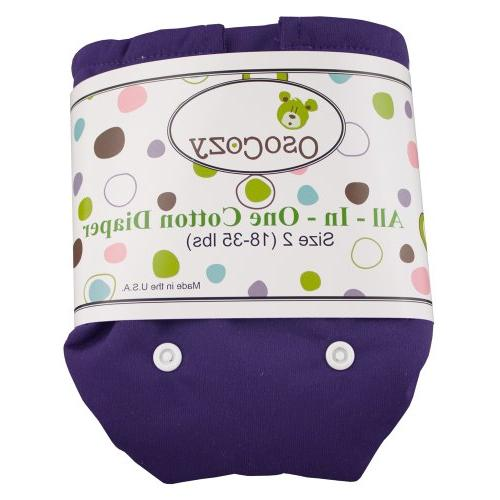 one cloth diaper