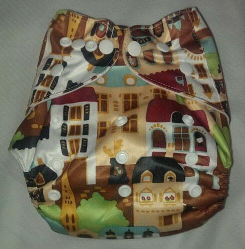 one new pocket cloth diaper nappy reusable
