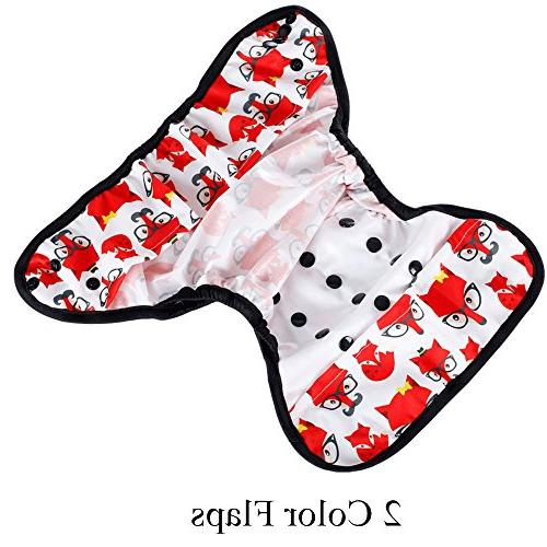 One Size Baby Reusable Nappy Cover Double Gussets
