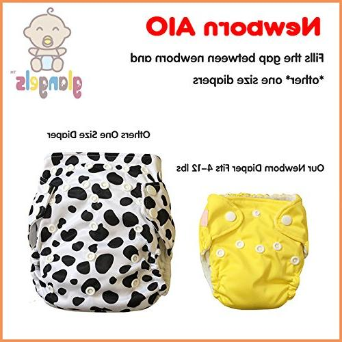 Premium Cloth Diapers –for Full Cover Dry & Baby Shower Gift