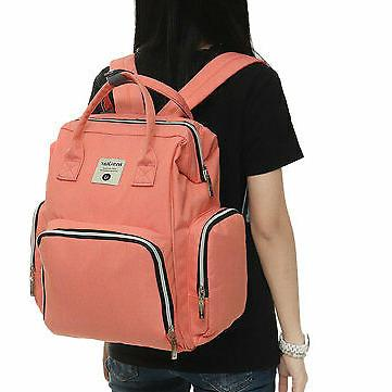 Oxford Cloth Backpack Multi-function Mommy Baby Diaper