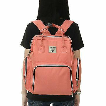 Oxford Cloth Waterproof Travel Backpack Baby Diaper Sto