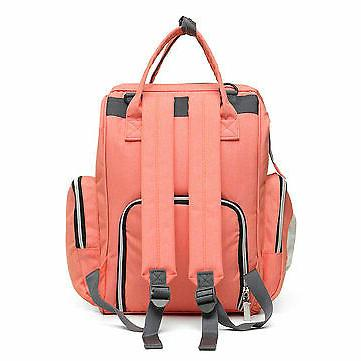Oxford Cloth Waterproof Backpack Mommy Baby Sto
