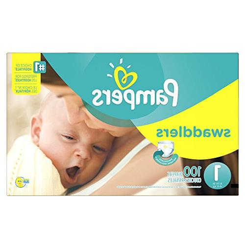 pampers swaddlers 1