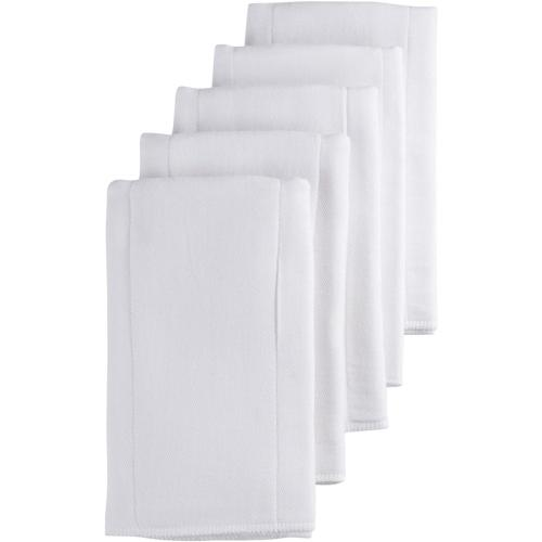 prefold gauze diaper white 5 count