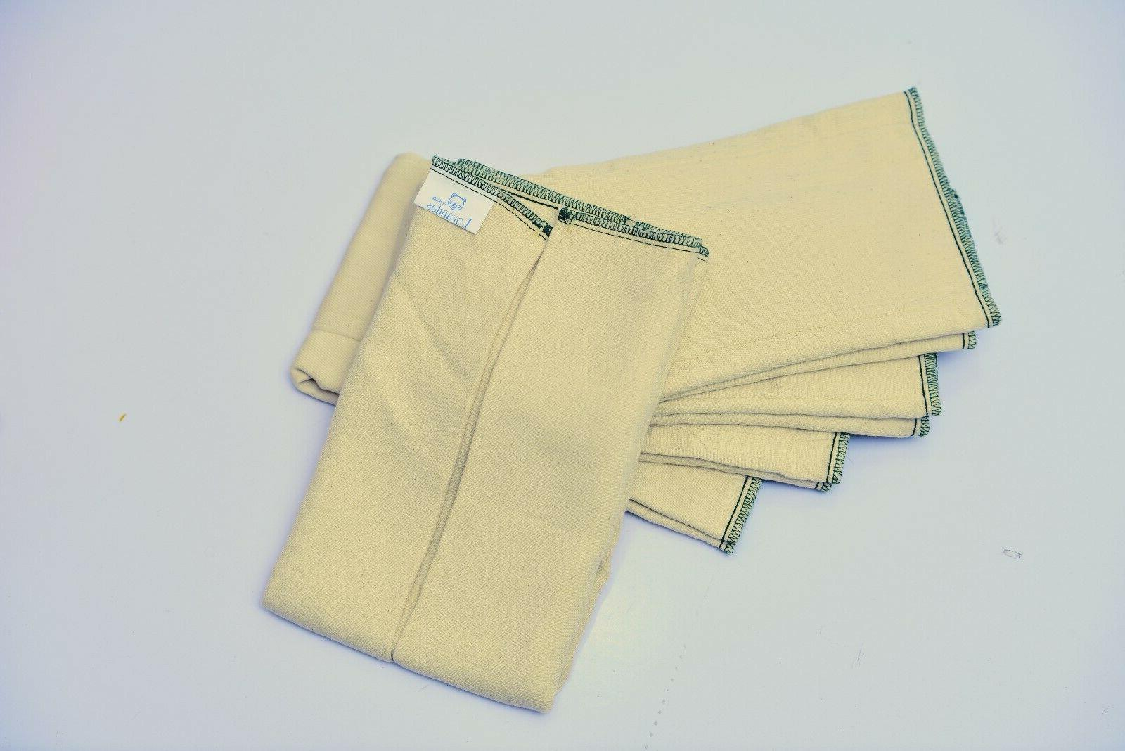 Lorandos Unbleached Diapers
