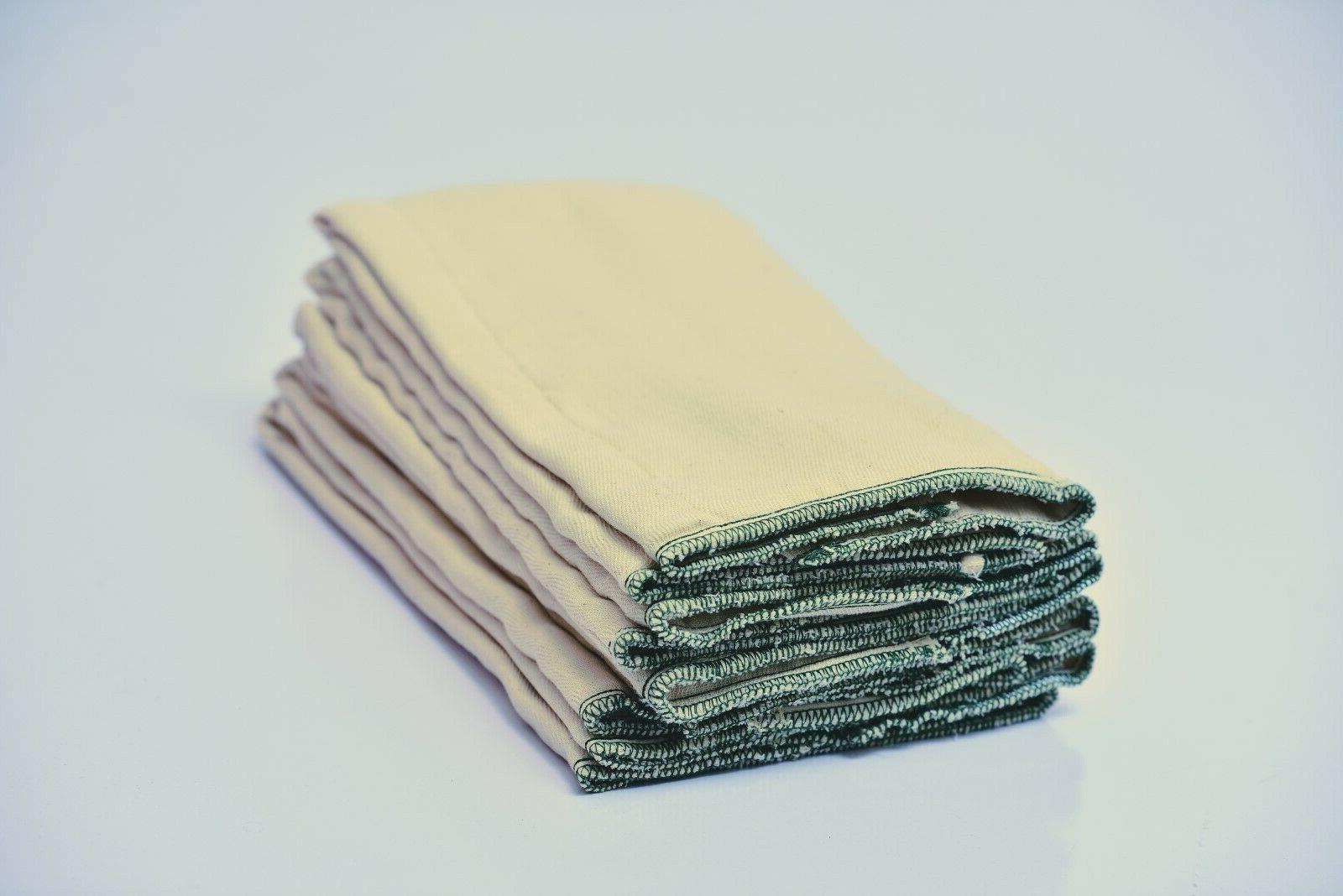Lorandos Unbleached Diapers Large Size