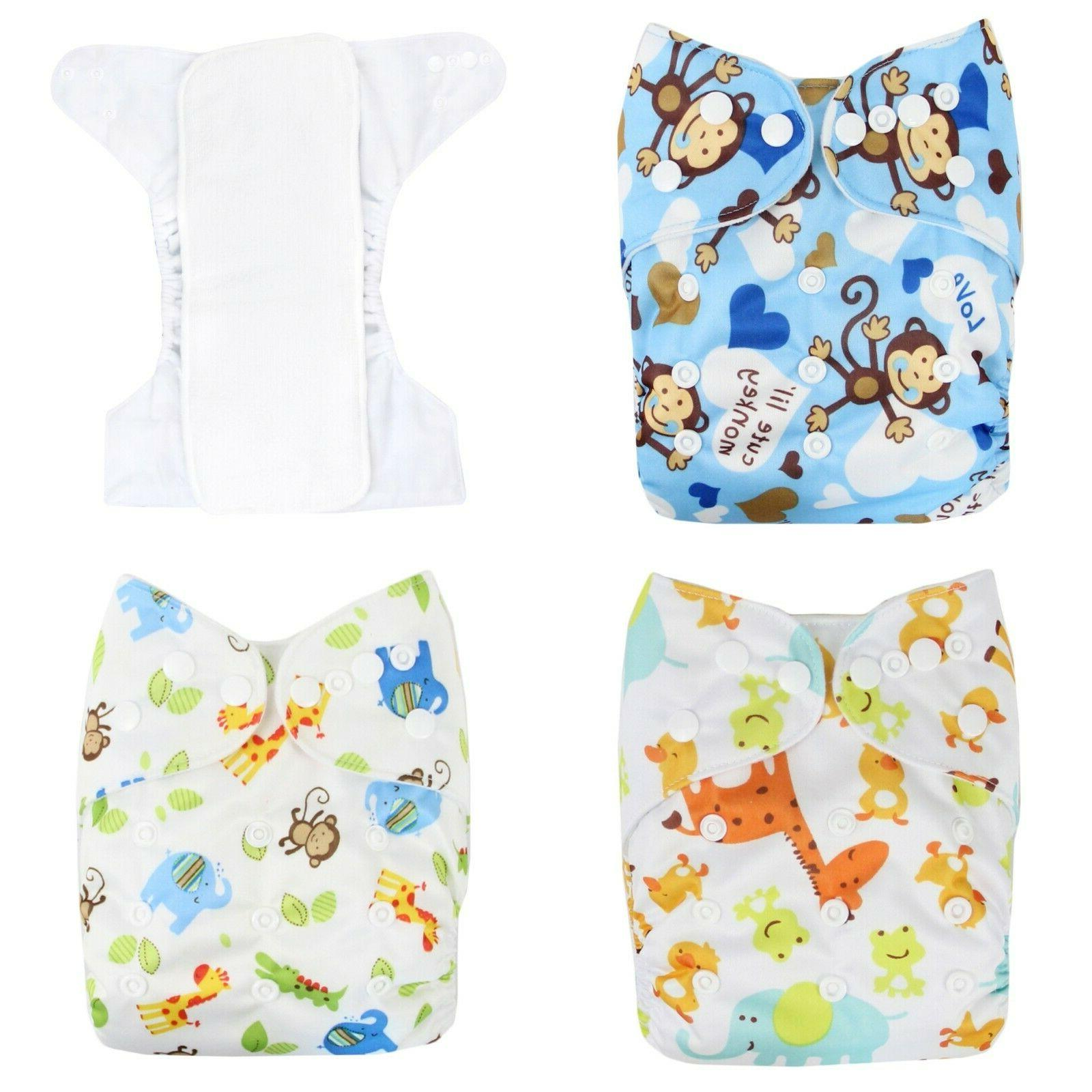Reusable, Adjustable, Waterproof Baby Pocket with Inserts