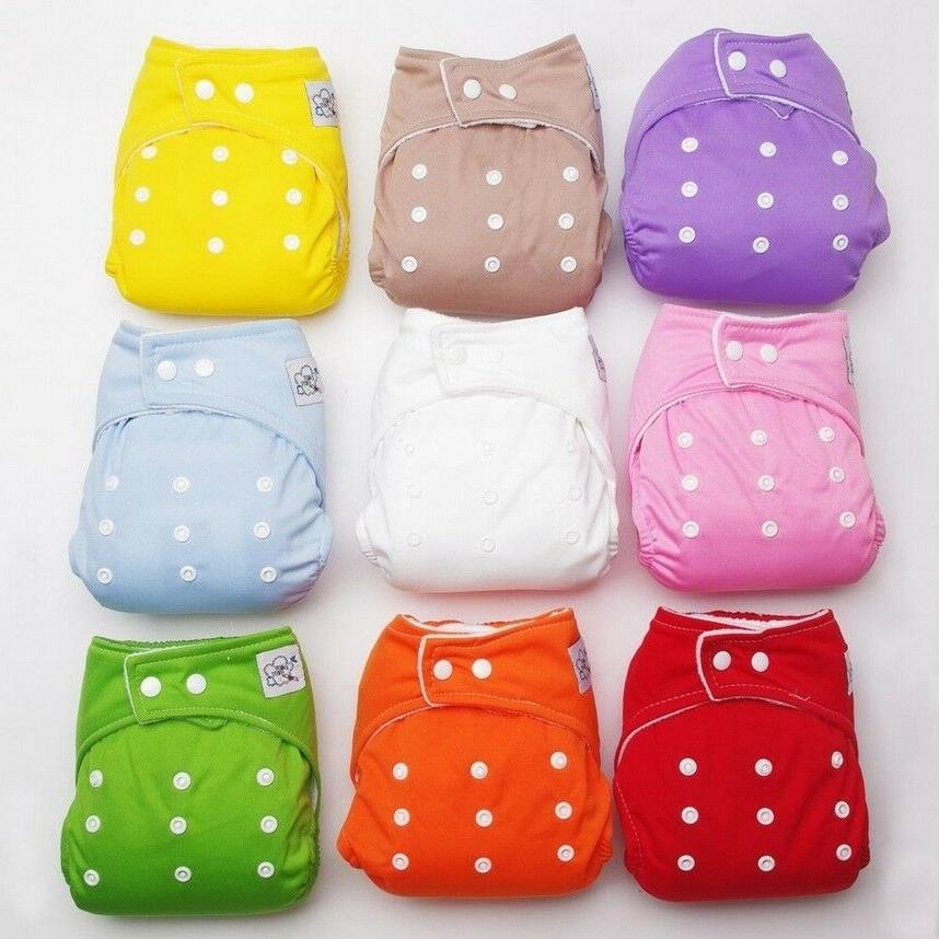 reusable baby infant nappy cotton cloth diapers
