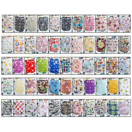 reusable nappies washable baby pocket cloth diapers