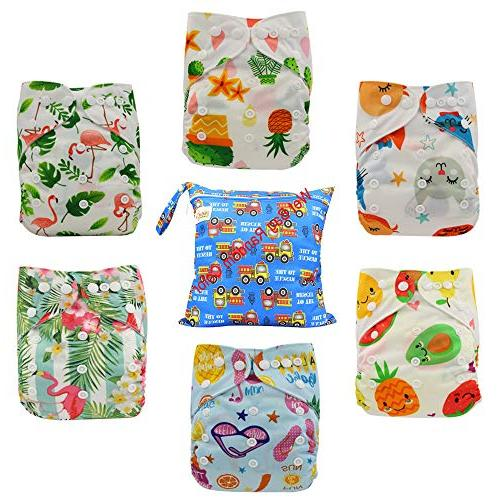 reusable pocket cloth diapers washable