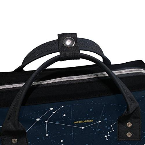 ALIREA And Constellations Diaper Bag Large Capacity Muti-Function Backpack