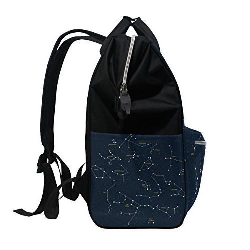 ALIREA Constellations Bag Large Capacity Travel Backpack