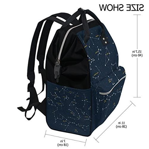 ALIREA Constellations Large Muti-Function Backpack