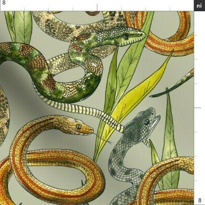 Snake Animals Serpent by