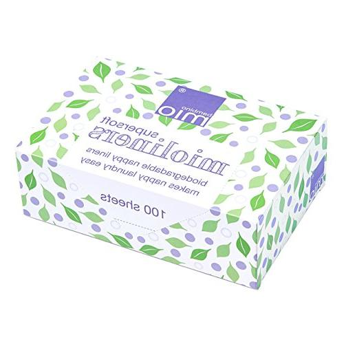supersoft mioliners diaper liners