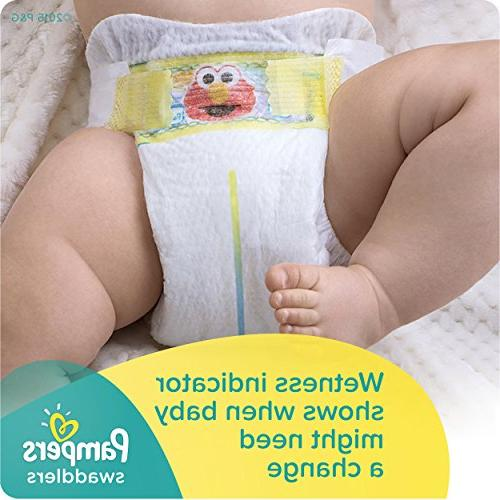 Pampers Swaddlers Diapers Size 1 - ct