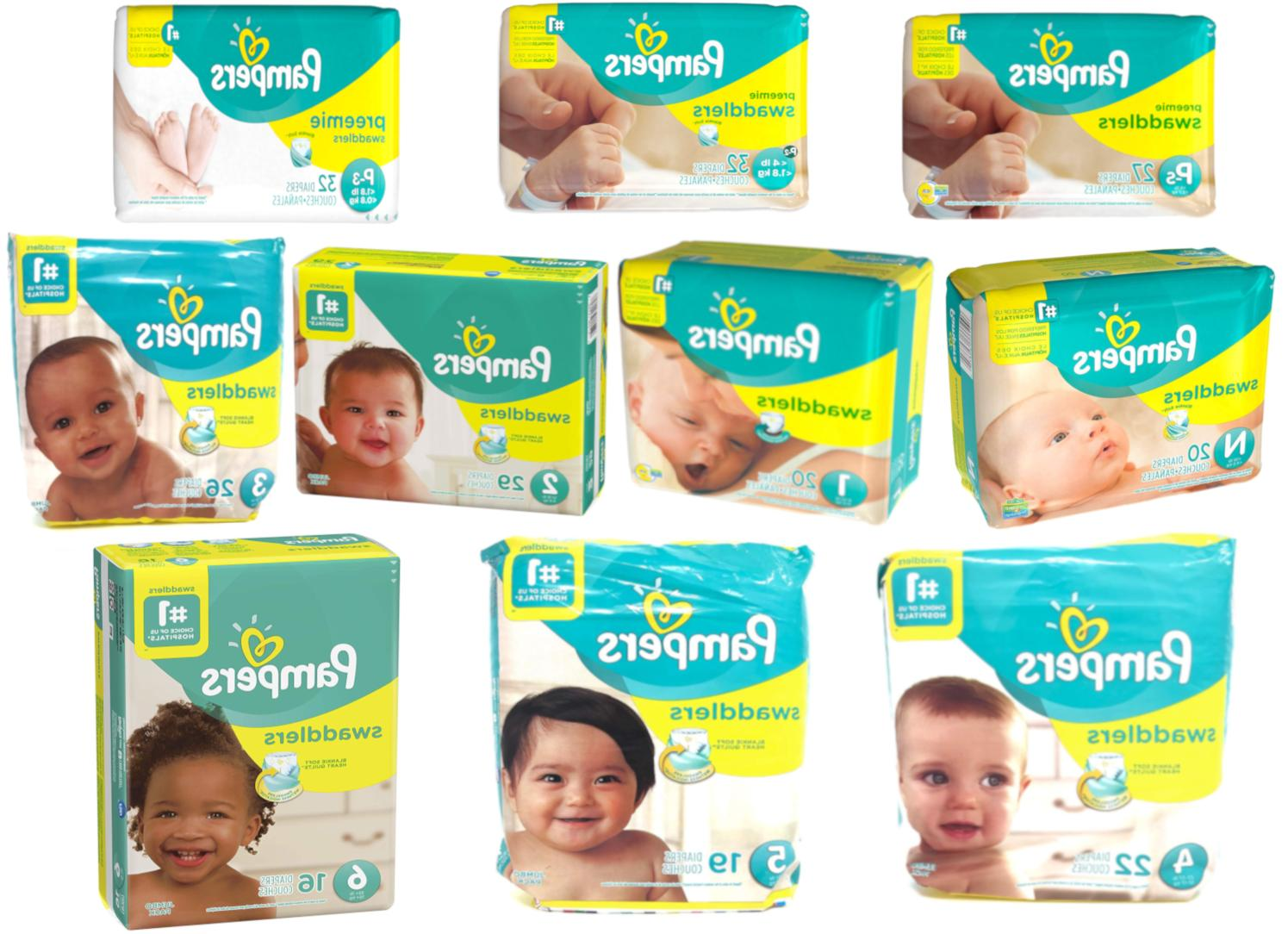 swaddlers diapers size p 1 p 2