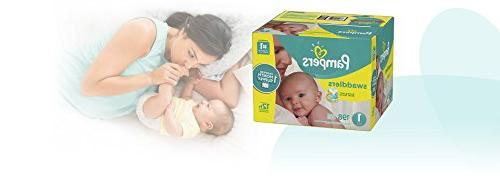 Pampers Swaddlers Diapers Size Count, ONE