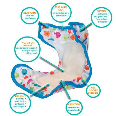 Tidy Hassle-Free Cloth Diapers One-Size