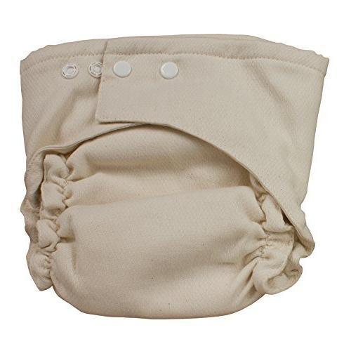 two fitted diaper