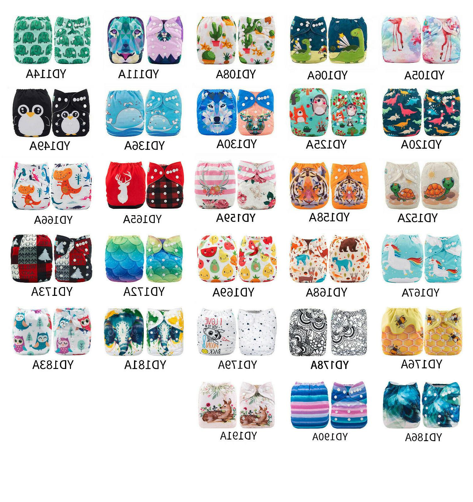 baby cloth diapers one size reusable pocket