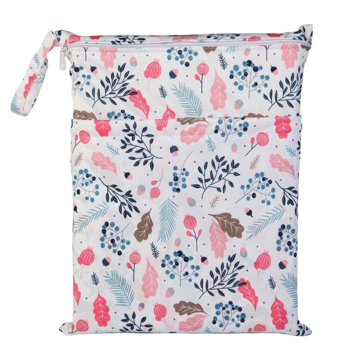 U Pick Dry Bag Baby Cloth Diaper Nappy Bag Reusable With Two