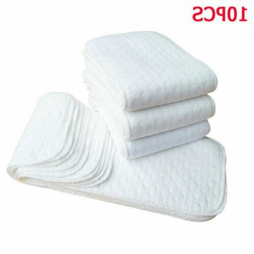 US Reusable Washable Inserts Liners Real Cloth