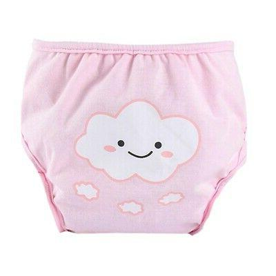 US Baby Diaper Cartoon Cover Washable Pants