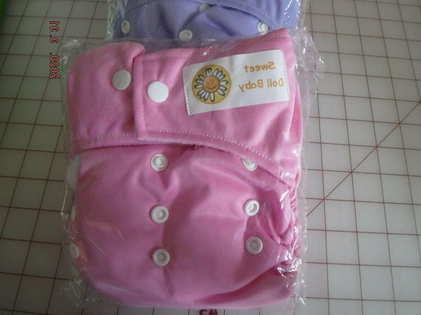 Waterproof Soft Baby Cloth Pocket Inserts Adjustable