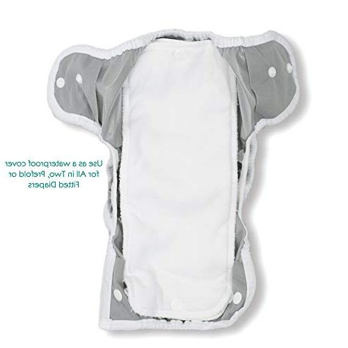 Thirsties Diaper Snap Closure, Foxy Size