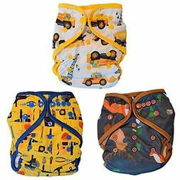 Layla Cloth Diapers Mae All In One Baby Boy Size Adjustable