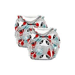 Lil Joey 2 Pack All-in-One Cloth Diaper, Clyde NEW!!!